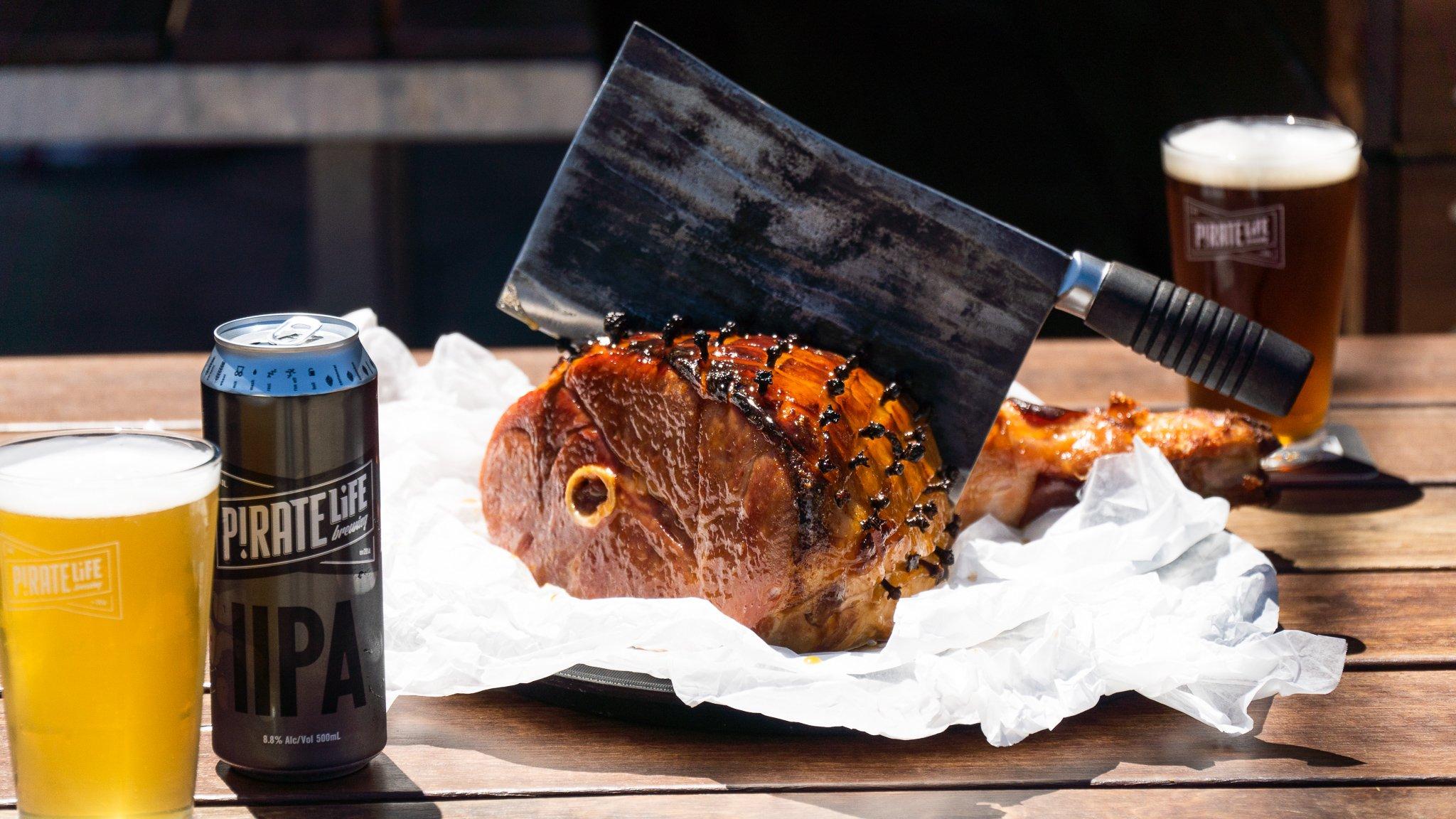 IIPA Glazed Christmas Ham