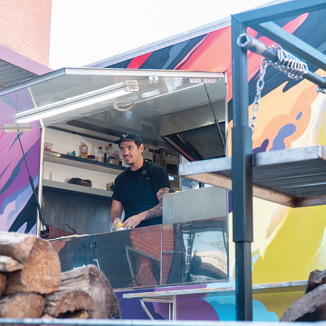 TEAMING UP WITH WORLD-RENOWNED CHEF, TAKING FOOD TRUCKS TO A 'NEW LEVEL' IN THE PORT