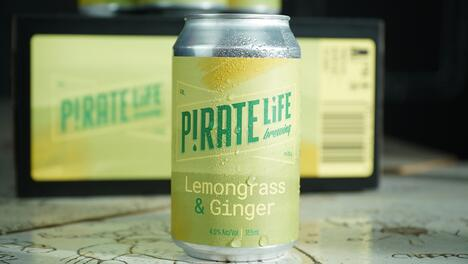 LEMONGRASS AND GINGER SOUR ALE