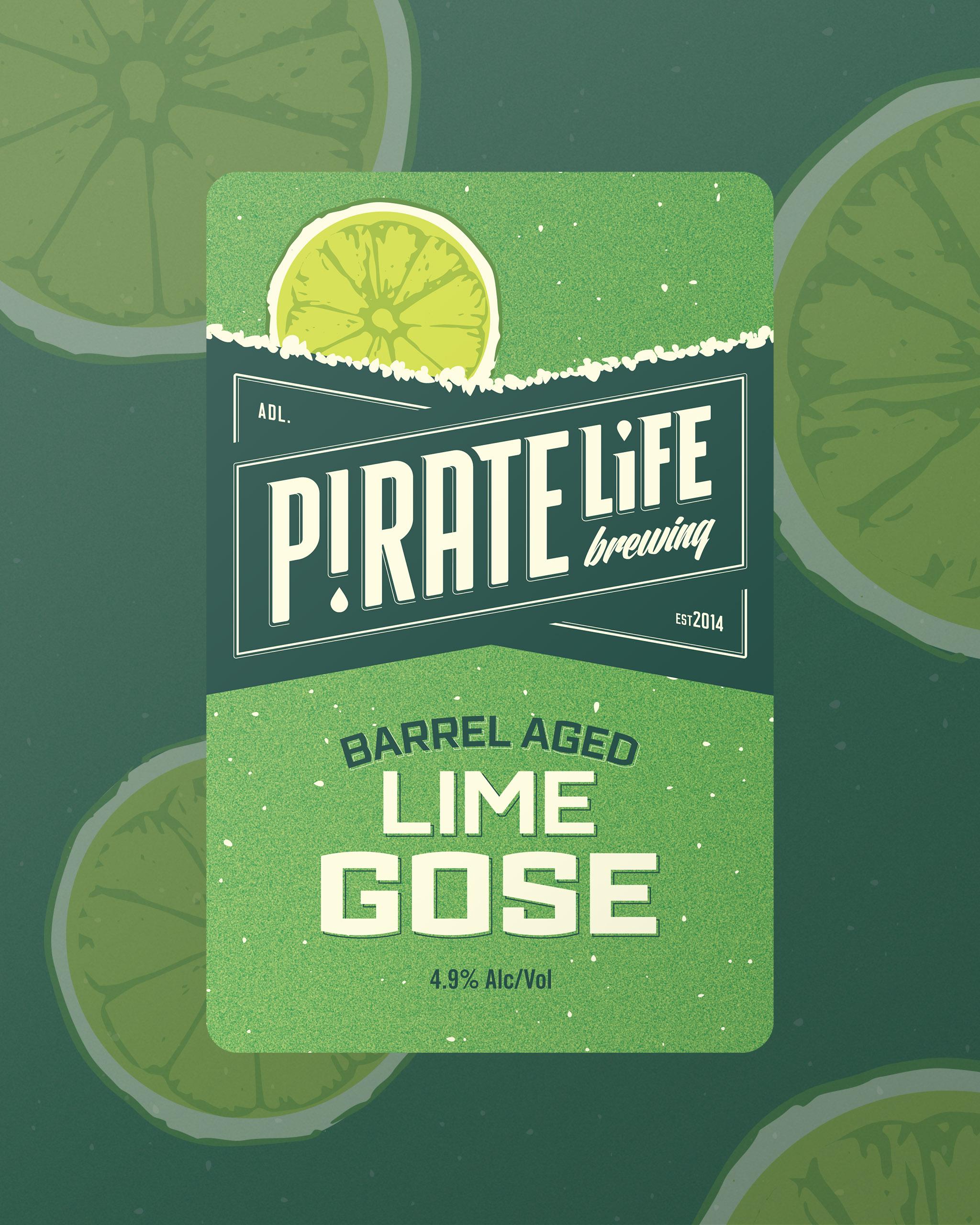 Barrel Aged Lime Gose