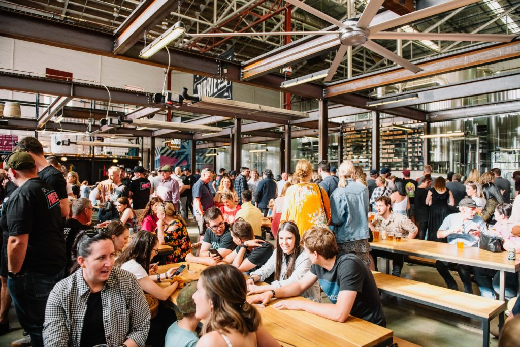 Beer Hall – Groups of 4 – 40