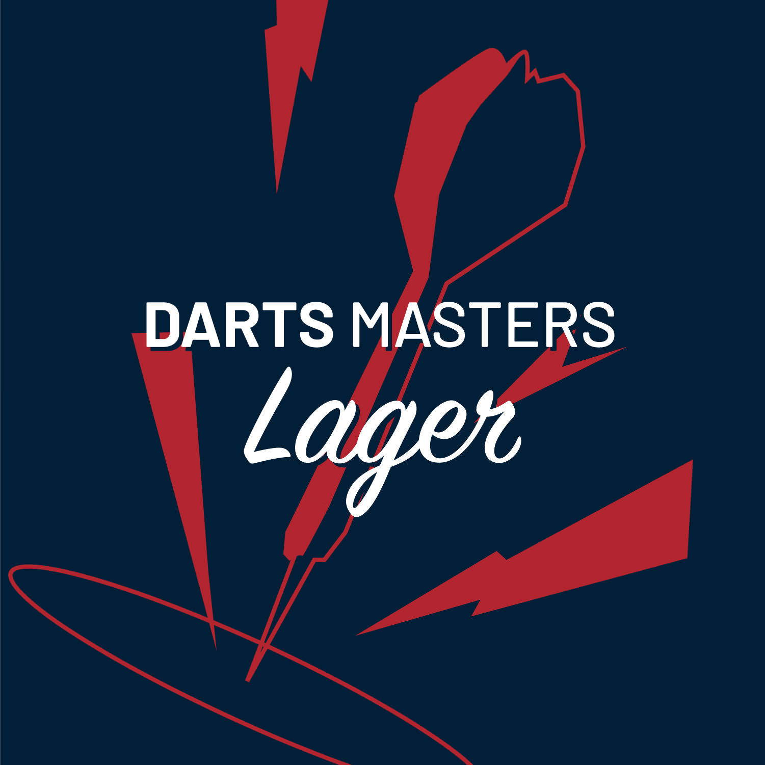 DARTS MASTERS LAGER
