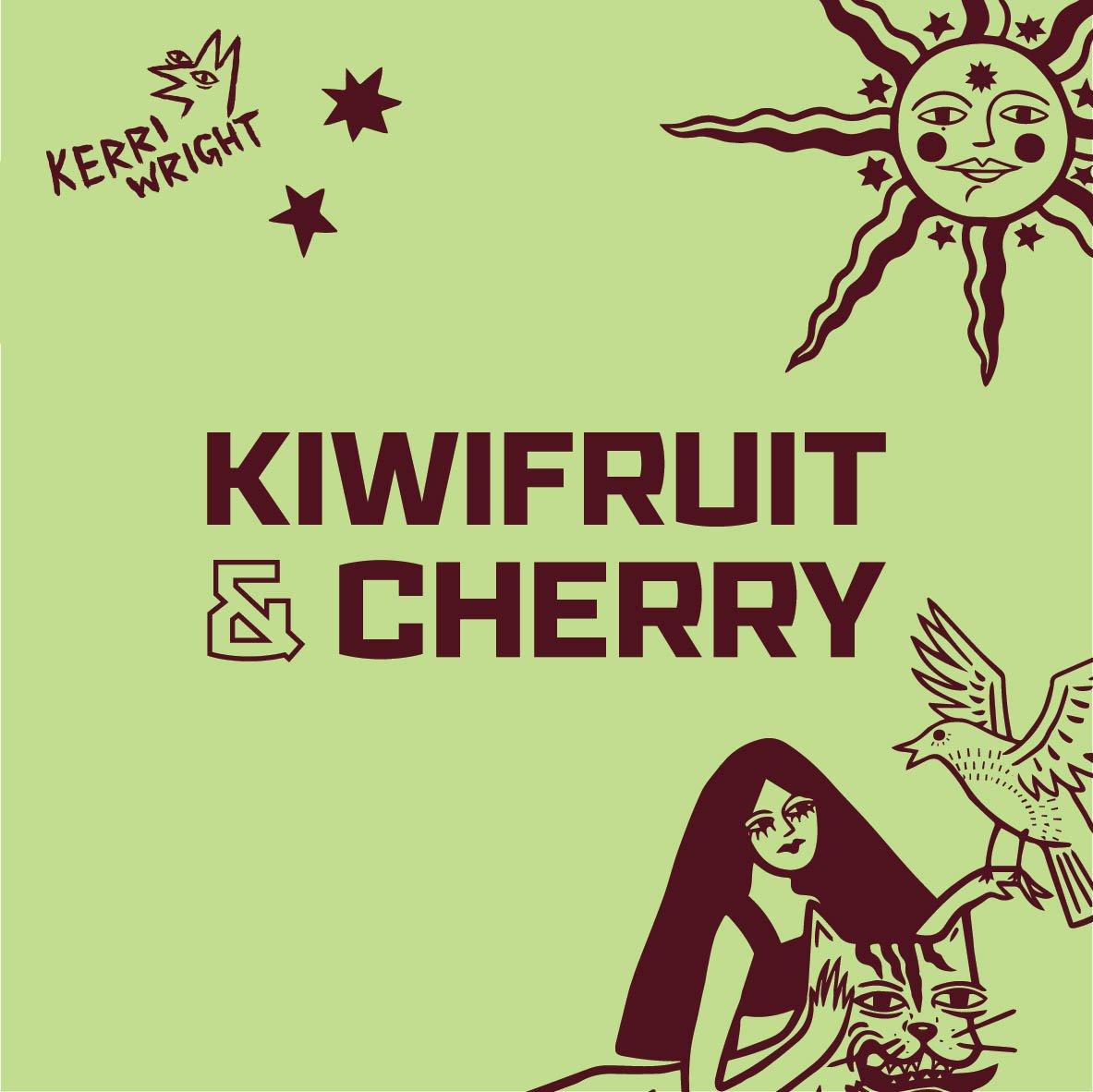 KIWIFRUIT AND CHERRY