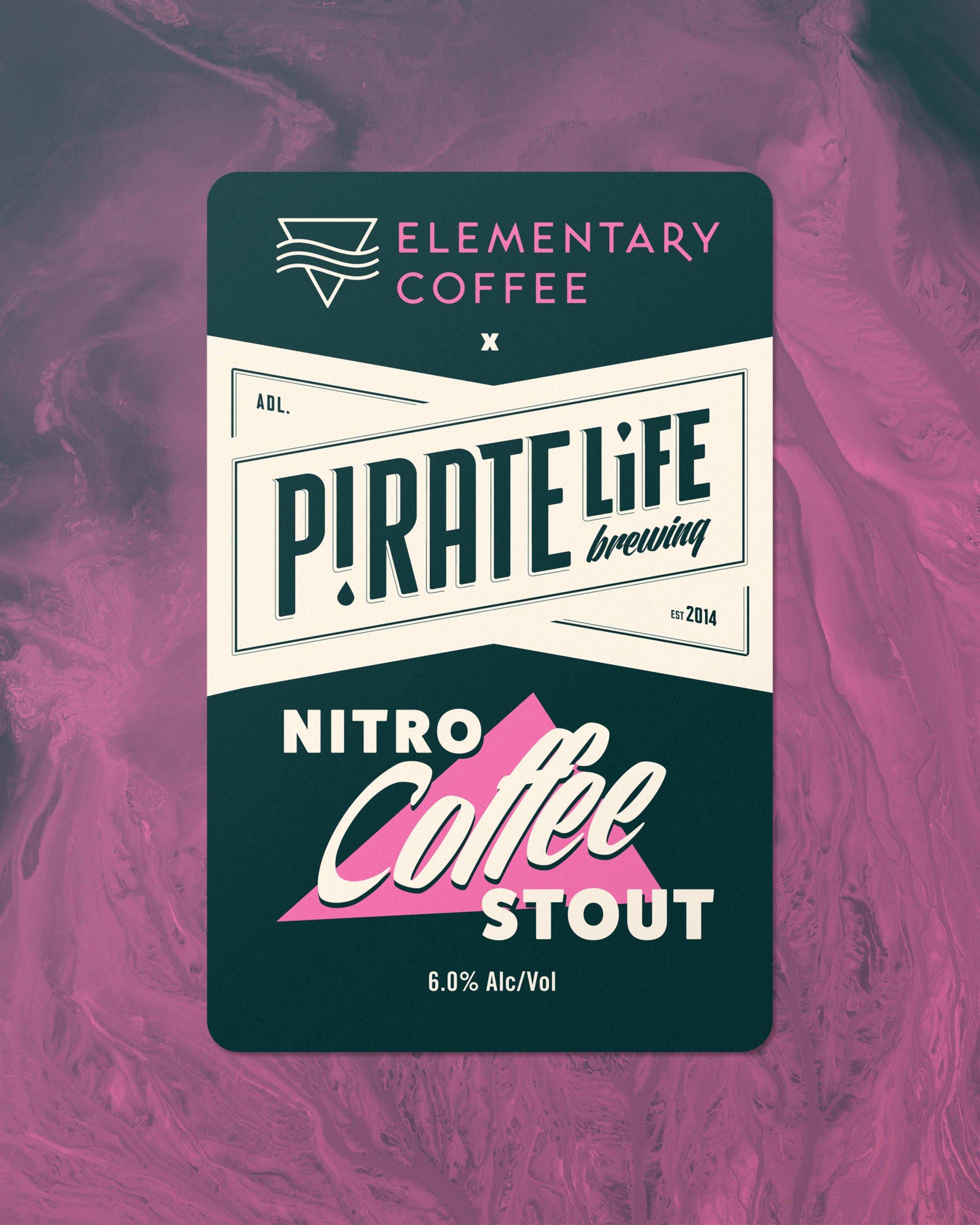 NITRO COFFEE STOUT – ELEMENTARY