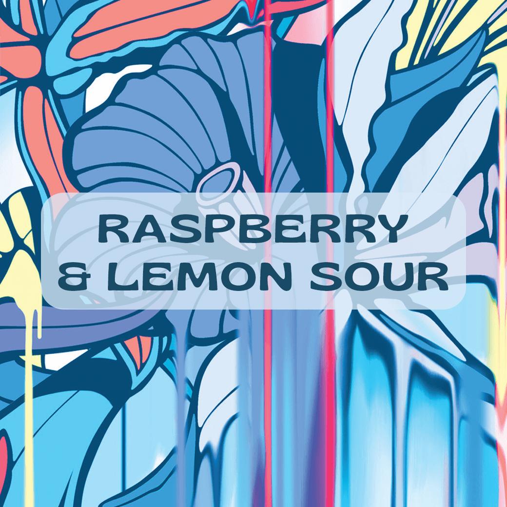 Raspberry & Lemon Sour